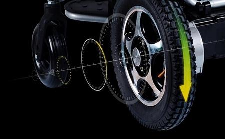 Elektryczny wózek inwalidzki Airwheel H3P+GPS (17)