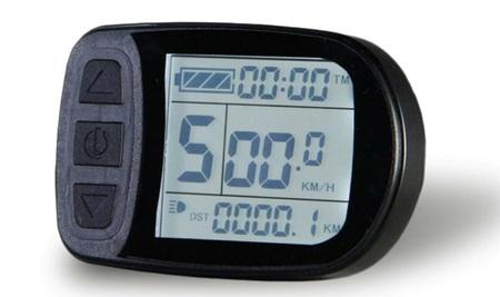 Zestaw elektryczny S1100 1kW 48V LCD5+Bateria 17,5Ah+Ł.2A+GRATIS (21)