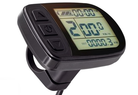 Zestaw elektryczny S1100 1kW 48V LCD5+Bateria 17,5Ah+Ł.2A+GRATIS (22)