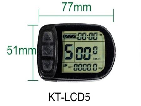 Zestaw elektryczny S1100 1kW 48V LCD5+Bateria 17,5Ah+Ł.4A+GRATIS (19)