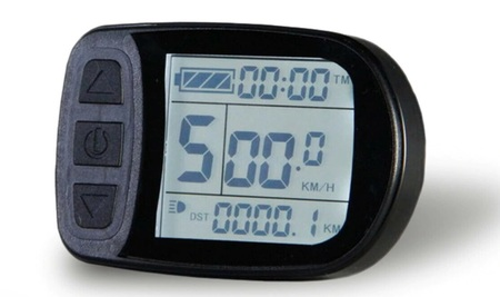 Zestaw elektryczny S1100 1kW 48V LCD5+Bateria 17,5Ah+Ł.4A+GRATIS (21)