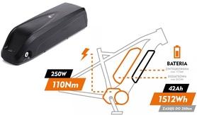 Bateria zewnętrzna / dodatkowa do rowerów Bolt 17,5Ah 36V