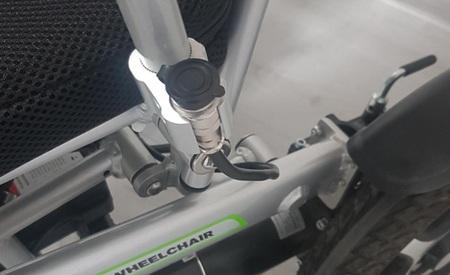Elektryczny wózek inwalidzki Airwheel H3T+GPS (25)