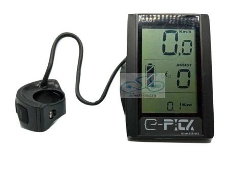 Zestaw elektryczny MID 800W 48V+Bateria 24,5Ah+Ł.4A (9)