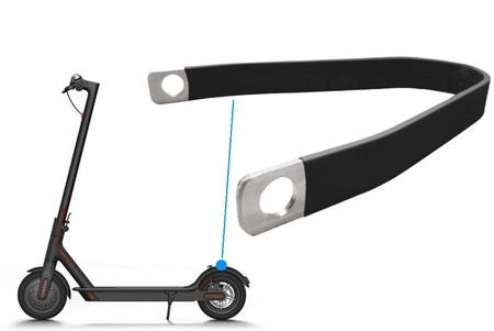 Błotnik tył z lampką + wspornik aluminiowy do hulajnogi Xiaomi M365 /PRO (18)