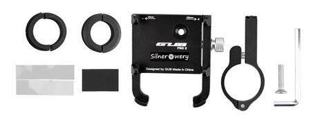 Uchwyt aluminiowy do roweru, hulajnogi, skutera, motocykla GUB PRO-2 (12)
