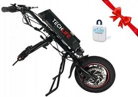 Napęd elektryczny, przystawka do wózka inwalidzkiego Techlife W1+GPS