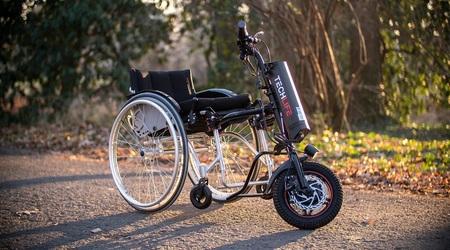 Przystawka elektryczna do wózka inwalidzkiego Techlife W1 11Ah+GPS (6)