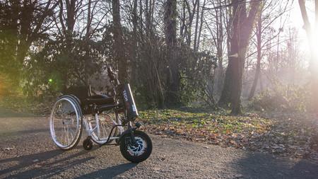 Przystawka elektryczna do wózka inwalidzkiego Techlife W1 11Ah+GPS (8)