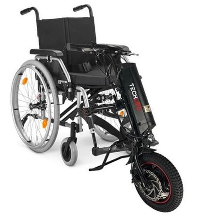 Przystawka elektryczna do wózka inwalidzkiego Techlife W1 11Ah+GPS (16)