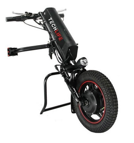 Przystawka elektryczna do wózka inwalidzkiego Techlife W1 11Ah+GPS (18)