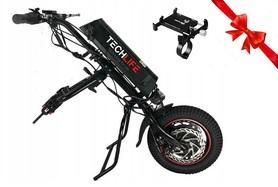 Przystawka elektryczna do wózka inwalidzkiego Techlife W1+Uchwyt