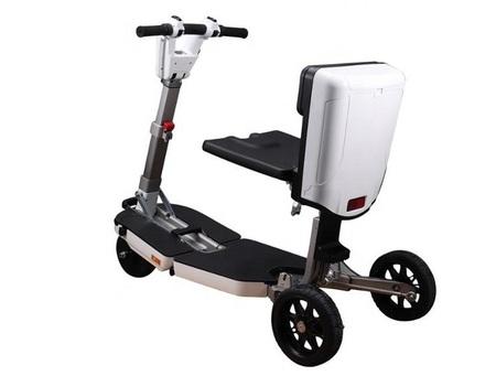 Elektryczny skuter inwalidzki Techlife U5+GPS (5)