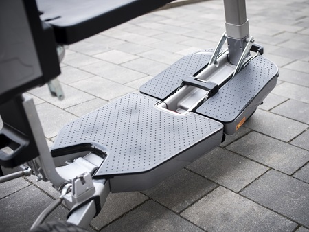 Elektryczny skuter inwalidzki Techlife U5+GPS (8)