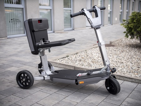 Elektryczny skuter inwalidzki Techlife U5+GPS (12)