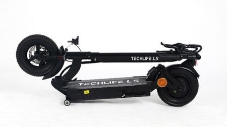 Hulajnoga elektryczna z siodełkiem Techlife L5T 350W (9)