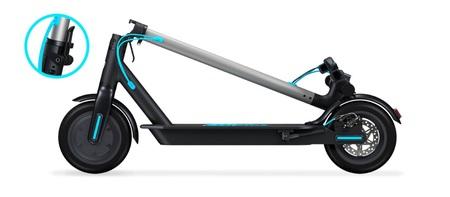 Hulajnoga elektryczna Motus Scooty 8,5 Turkus 350W (12)