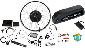 Zestaw elektryczny S1100 1kW 48V LCD3+Bateria 14,5Ah+Ł.2A+GRATIS