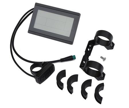 Zestaw elektryczny S1100 1kW 48V LCD3+Bateria 17,5Ah+Ł.4A+GRATIS (16)