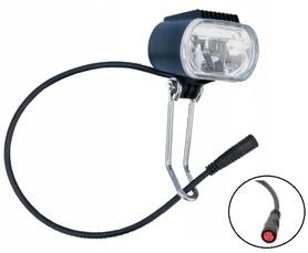 Lampka LED 24V/36V/48V przednia do roweru elektrycznego