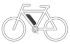 Bateria Li-ion do roweru elektrycznego 14,5Ah 48V BG701+Ł.2A (8)