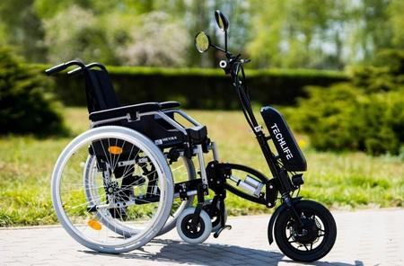Przystawka elektryczna do wózka inwalidzkiego Techlife W3+GPS (3)