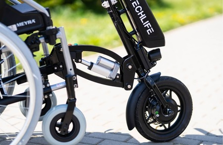 Przystawka elektryczna do wózka inwalidzkiego Techlife W3+GPS (8)