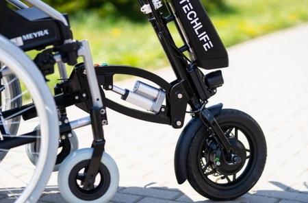 Przystawka elektryczna do wózka inwalidzkiego Techlife W3+GPS (14)