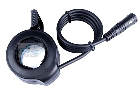 Manetka kciukowa gazu do rowerów elektrycznych Bafang (8)