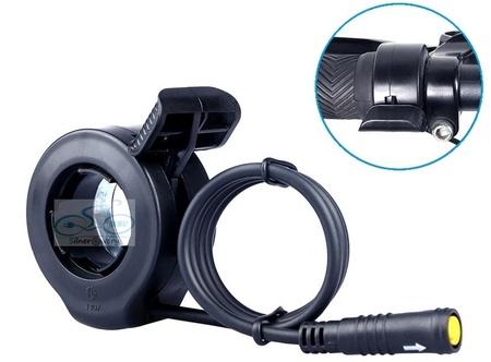 Manetka kciukowa gazu do rowerów elektrycznych Bafang (11)