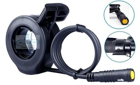 Manetka kciukowa gazu do rowerów elektrycznych Bafang (1)